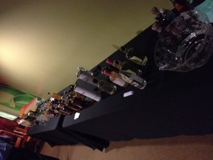 2012 Party town Spirits Table